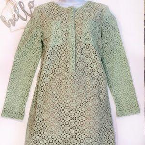 Victoria Beckham Dress Target Size XL Mint Green